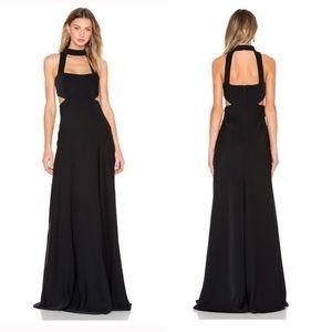 NWT Cut Out Gown Black Women Dress